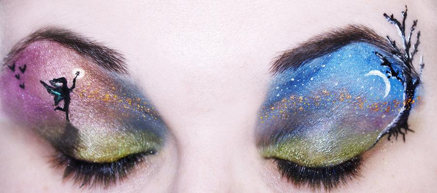 Make Up , 8 Eye Makeup For A Fairy : Fairy Eye Makeup Ideas