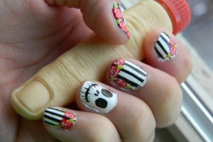 Nail , 6 Migi Nail Art Pen Designs : fashioned migi nail art