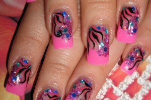Nail , 7 Girly Nail Designs : feminine and girly nail designs