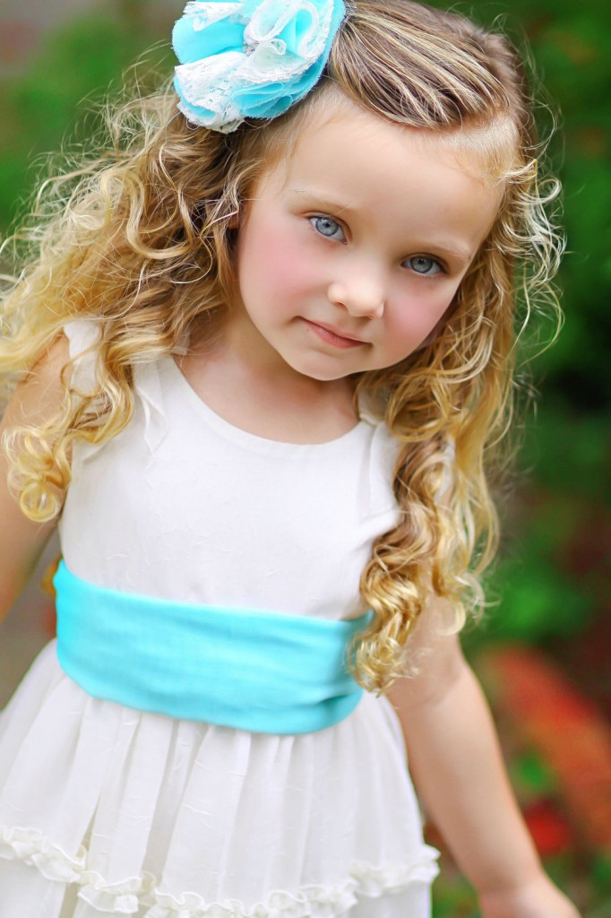 7 Flower Girl Hair in Hair Style