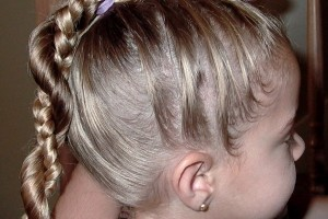 Hair Style , 7 Little Girl Braided Hairstyles : french braid and put it along with the braid