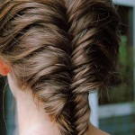 10 Unique Fishtail Braid Hairstyles To Inspire You | StyleCraze , 6  Fishtail French Braid In Hair Style Category