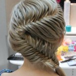 Hair Trends: French Fishtail Braid « , 6  Fishtail French Braid In Hair Style Category