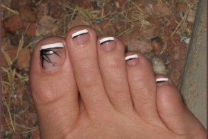 Fashion , 6 Easy Toe Nail Designs : Toenail designs: Simple toenail designs