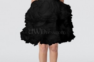 Fashion , 6 Little Black Dress Backless Inspiration : ... Doll Sweetheart Sleeveless Backless Knee Length Little Black Dresses