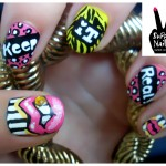 funky lips nail design , 7 Lips Nail Art Design In Nail Category