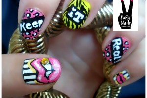820x620px 7 Lips Nail Art Design Picture in Nail