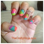 Astounding DIY Nail Art Designs Using Scotch Tape | cathrynicious , 6 Scotch Tape Nail Designs In Nail Category