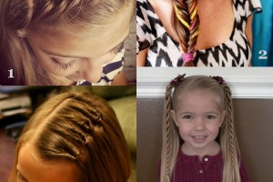 580x591px 6 Hairstyles For The First Day Of School Picture in Hair Style