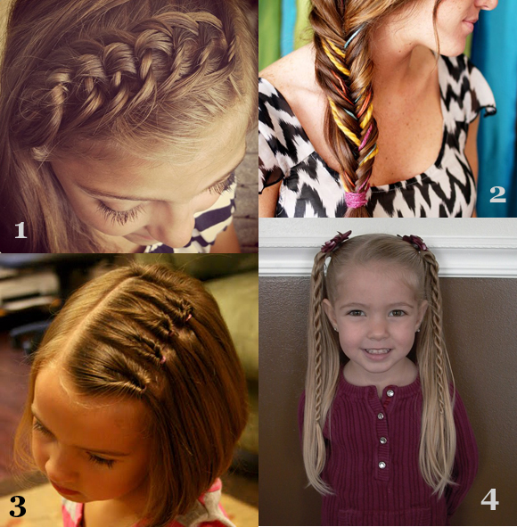 6 Hairstyles For The First Day Of School in Hair Style