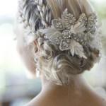 Weddbook ♥ Sleek wedding braided bun / updo. Wedding hairstyles for ... , 7 Braided Updos For Weddings In Hair Style Category