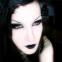 Make Up , 8 Goth Eye Makeup :  goth eye makeup styles