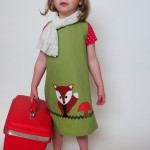green dress Cute vintage style clothes for kids , 8 Vintage Style Dresses For Kids In Fashion Category