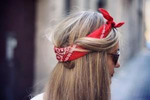 Hair Style , 8 Cute Bandana Hairstyles : hair wrapped around bandana