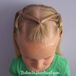 hairstyles with rubber bands for kids , 6 Hairstyles With Rubber Bands In Hair Style Category