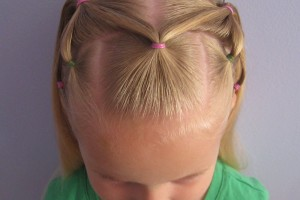 Hair Style , 6 Hairstyles With Rubber Bands : hairstyles with rubber bands for kids