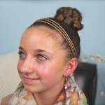 hairstyles with rubber bands for little girls , 7 Hairstyles With Rubber Bands In Hair Style Category