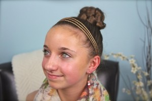 Hair Style , 7 Hairstyles With Rubber Bands : hairstyles with rubber bands for little girls