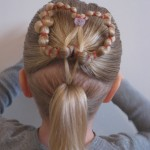 hairstyles with rubber bands for little girls , 6 Hairstyles With Rubber Bands In Hair Style Category