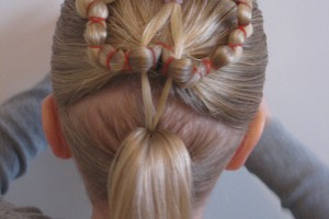 Hair Style , 6 Hairstyles With Rubber Bands : hairstyles with rubber bands for little girls