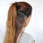 half ponytail , 7 Half Ponytail Hairstyles In Hair Style Category