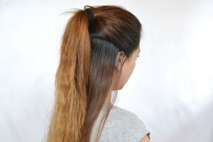 550x367px 7 Half Ponytail Hairstyles Picture in Hair Style