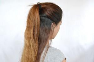 Hair Style , 7 Half Ponytail Hairstyles : half ponytail