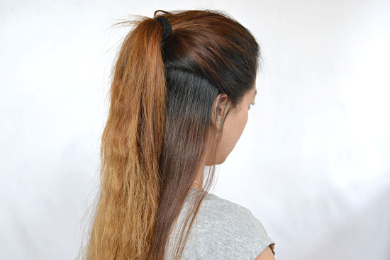 7 Half Ponytail Hairstyles in Hair Style