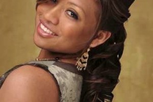 Hair Style , 7 Updo Prom Hairstyles For Black Girls : half up half down hair
