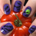halloween bats polish , 8 Batty Nail Art Designs In Nail Category
