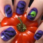 halloween bats polish , 8 Batty Nail Art Designs In Nail Category