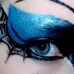 gothic spiderweb eye make up tutorial by trashyfag : , 7 Spider Web Eye Makeup In Make Up Category