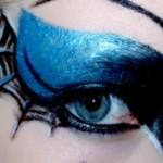 gothic spiderweb eye make up tutorial by trashyfag : , 7 Spider Web Eye Makeup In Make Up Category
