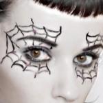 Makeup – Spiderweb Eyes » halloween-make-up-spiderweb-eyes ... , 7 Spider Web Eye Makeup In Make Up Category