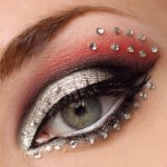 how to apply rhinestone eye makeup , 7 Rhinestone Eye Makeup In Make Up Category