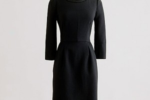 Fashion , 7 Photos Of J Crew Little Black Dress : Holidays 2011: The little black dress - Elle Canada