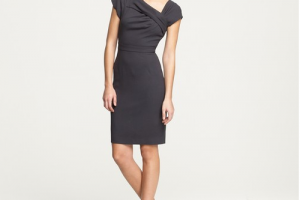 Fashion , 7 Photos Of J Crew Little Black Dress : crew-dress-work