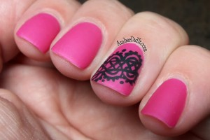 Nail , 6 Lace Nail Art Design : think this would make a great wedding design. I could see doing this ...