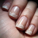 lace nail art stickers , 8 Lace Nail Art Tutorial In Nail Category