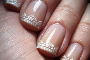 Nail , 8 Lace Nail Art Tutorial :  lace nail art stickers