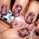 lace nail art tumblr , 8 Lace Nail Art Tutorial In Nail Category