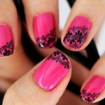 lace nail art tutorial , 8 Lace Nail Art Tutorial In Nail Category