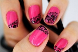 Nail , 8 Lace Nail Art Tutorial :  lace nail art tutorial