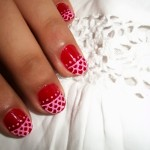 lace nail art design 2 lace nail art design 1 , 6 Lace Nail Art Design In Nail Category