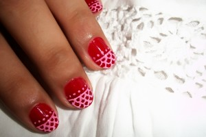Nail , 6 Lace Nail Art Design : lace nail art design 2 lace nail art design 1