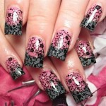 Lace Nail Art Designs-Tumblr | We Heart It , 6 Lace Nail Art Design In Nail Category