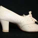 low heeled shoes with a perforated design , 8 Vintage Style Dress Shoes In Shoes Category