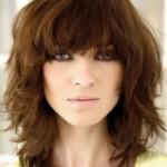 medium hairstyles with bangs , 6 Girls Medium Hairstyles In Hair Style Category