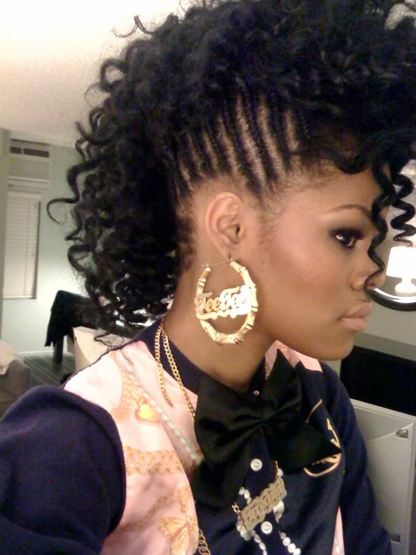 7 Black Girls Mohawk Hairstyles in Hair Style