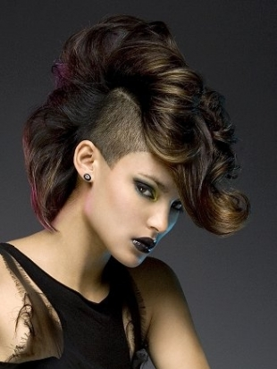Hair Style , 6 Black Girls Mohawk Hairstyles : Girl Mohawk Hairstyles Trends And Ideas   Mohawk Hairstyle   Zimbio